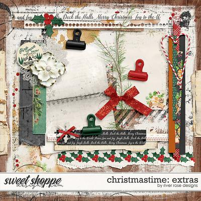 Christmastime: Extras by River Rose Designs