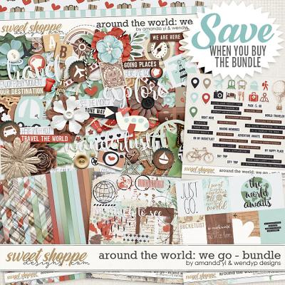 Around the world: We Go - Bundle by Amanda Yi & WendyP Designs