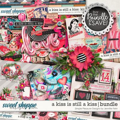 a kiss is still a kiss bundle: simple pleasure designs by jennifer fehr