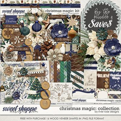 Christmas Magic: Collection + FWP by River Rose Designs