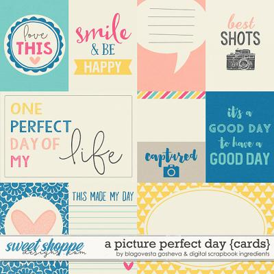 A Picture Perfect Day | Journal Cards by Blagovesta Gosheva & Digital Scrapbook Ingredients