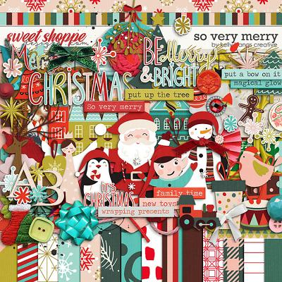 So Very Merry by Kelly Bangs Creative