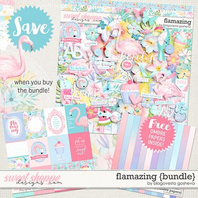 Flamazing {bundle} by Blagovesta Gosheva + FREE Ombre papers
