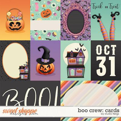 Boo Crew: CARDS by Studio Flergs