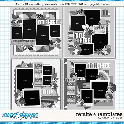 Cindy's Layered Templates - Retake Four by Cindy Schneider