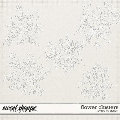 Flower Clusters by Red Ivy Design