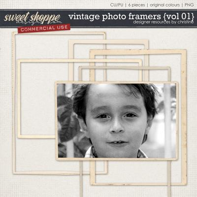 Vintage Framers {Vol 01} by Christine Mortimer