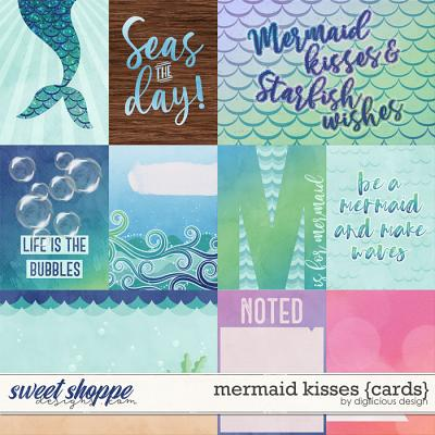 Mermaid Kisses {Cards} by Digilicious Design