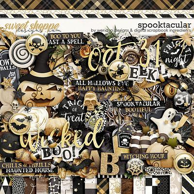 Spooktacular by WendyP Designs and Digital Scrapbook Ingredients