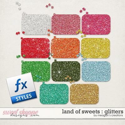 Land of Sweets : Glitters by Meagan's Creations