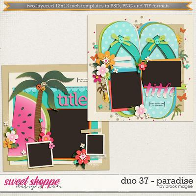 Brook's Templates - Duo 37 - Paradise by Brook Magee