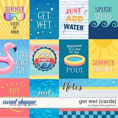 Get wet {cards} by Blagovesta Gosheva