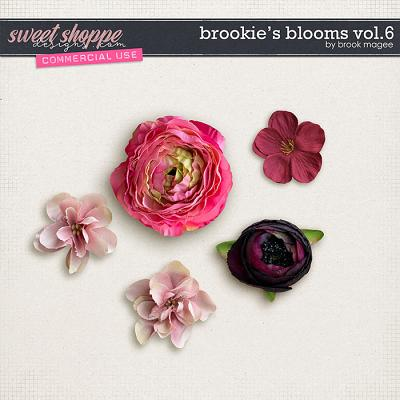 Brookie's Blooms Vol.6 - CU - by Brook Magee