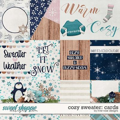 Cozy Sweater: Cards by River Rose Designs