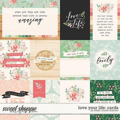 Love your Life: Cards by Kristin Cronin-Barrow