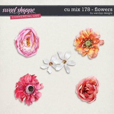 CU Mix 178 - flowers by WendyP Designs