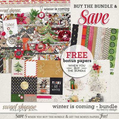 Winter is Coming - Bundle by Red Ivy Design