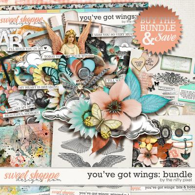 YOU'VE GOT WINGS | BUNDLE by The Nifty Pixel