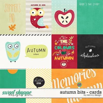 Autumn Bits - Cards by Red Ivy Design