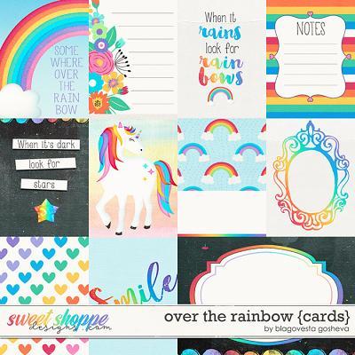 Over the Rainbow {cards} by Blagovesta Gosheva