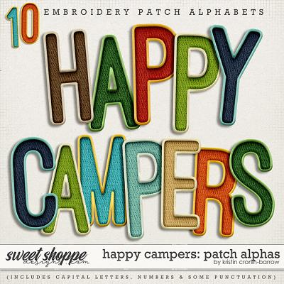 Happy Campers: Patch Alphas by Kristin Cronin-Barrow