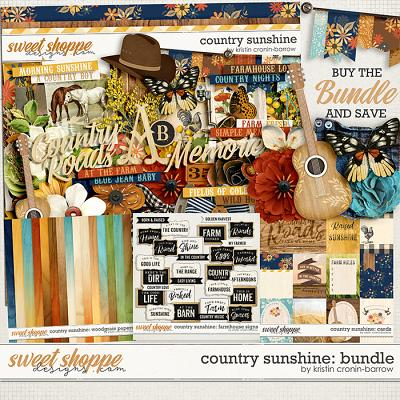 Country Sunshine: Bundle by Kristin Cronin-Barrow