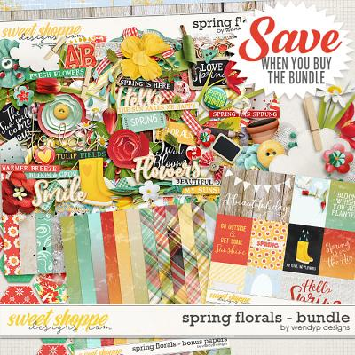 Spring Florals - Bundle by WendyP Designs