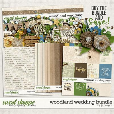 Woodland Wedding Bundle by LJS Designs