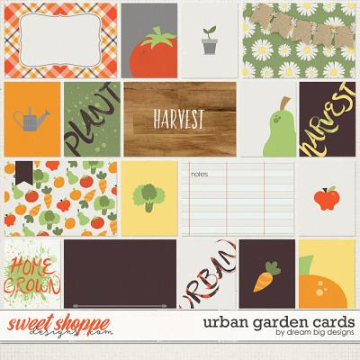 Urban Garden Cards by Dream Big Designs