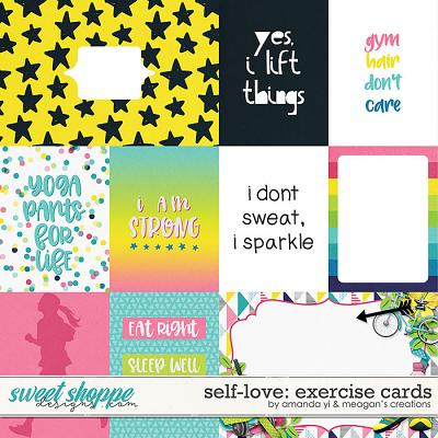 Self-Love: Exercise Cards by Amanda Yi & Meagan's Creations