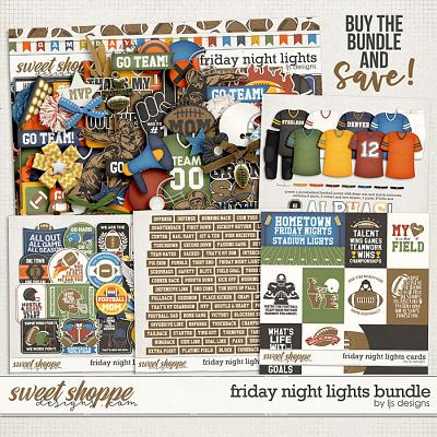 Friday Night Lights Bundle by LJS Designs