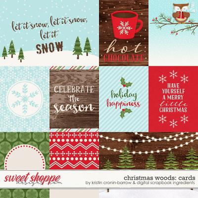 Christmas Woods | Cards by Kristin Cronin-Barrow & Digital Scrapbook Ingredients