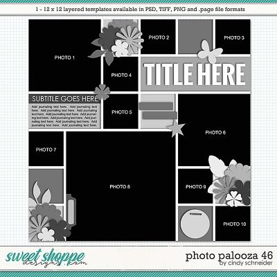 Cindy's Layered Templates - Photo Palooza 46 by Cindy Schneider
