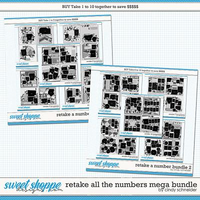 Retake All The Numbers Mega Bundle by Cindy Schneider
