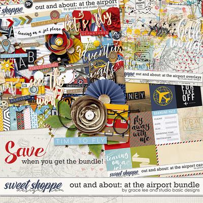 Out and About: At The Airport Bundle by Grace Lee and Studio Basic