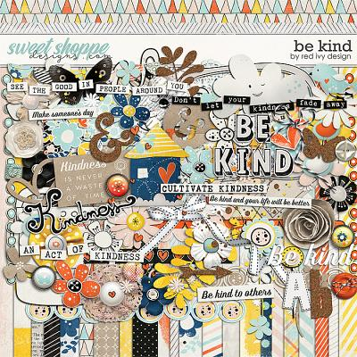 Be Kind by Red Ivy Design