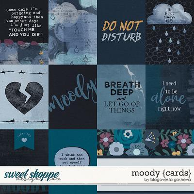 Moody {cards} by Blagovesta Gosheva