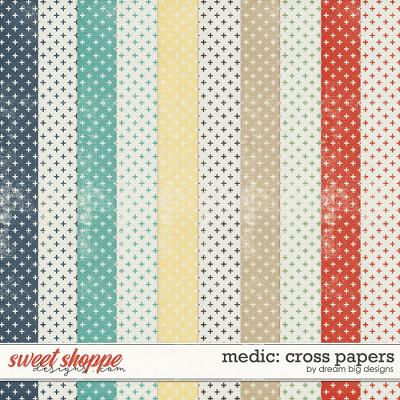 Medic: Cross Papers by Dream Big Designs