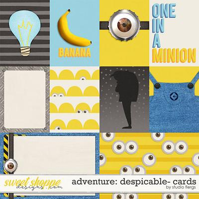 Adventure: Despicable- CARDS by Studio Flergs