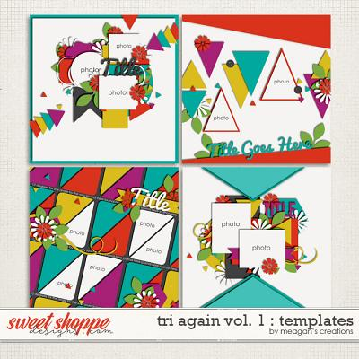 Tri Again Vol. 1 : Templates by Meagan's Creations