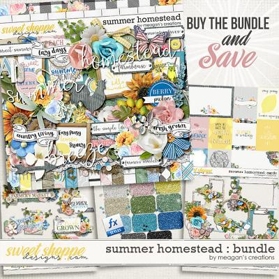 Summer Homestead: Collection Bundle by Meagan's Creations