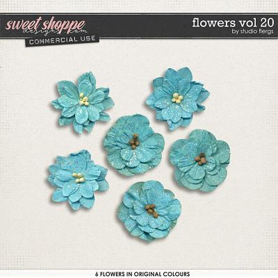Flowers VOL 20 by Studio Flergs