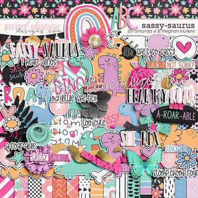 Sassy Saurus by Amanda Yi Designs & Meghan Mullens