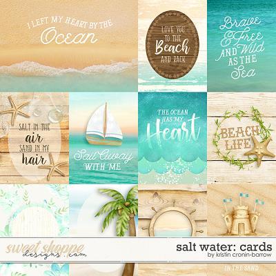 Salt Water: Cards by Kristin Cronin-Barrow