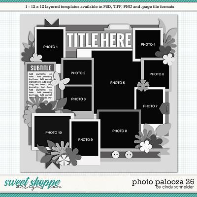 Cindy's Layered Templates - Photo Palooza 26 by Cindy Schneider