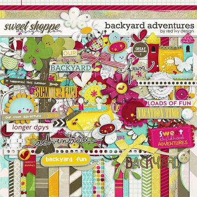 Backyard Adventures by Red Ivy Design