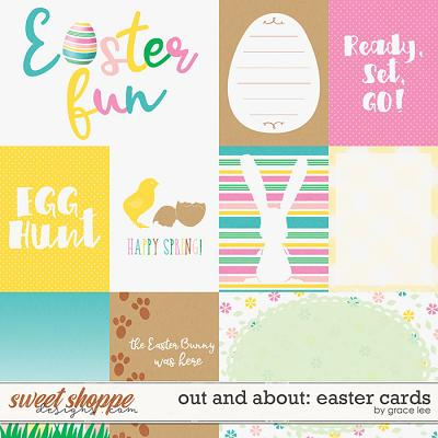 Out and About: Egg Hunt Cards by Grace Lee