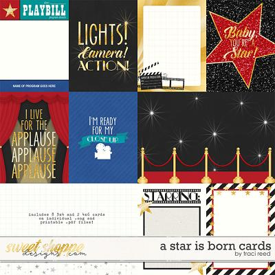 A Star Is Born Cards by Traci Reed