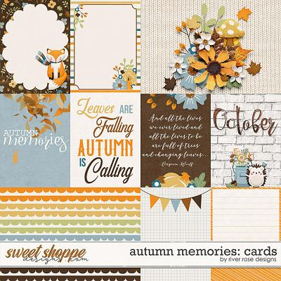 Autumn Memories: Cards by River Rose Designs