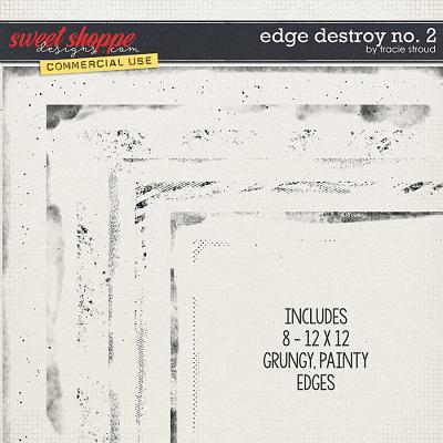 CU Edge Destroy no. 2 by Tracie Stroud